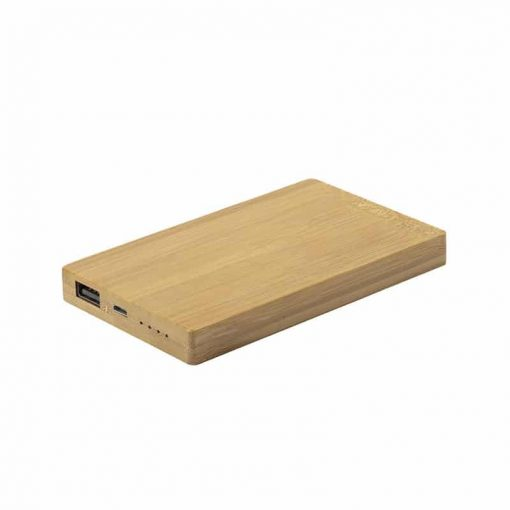 PF234 - LEAF POWER Power bank in bamboo
