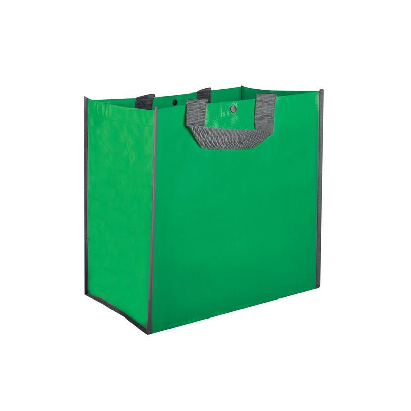 PG093 - Borsa shopping con soffietto Verde PG093VE
