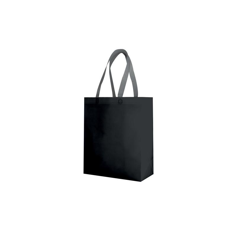 PG135 - Borsa shopping con soffietto Nero PG135NE