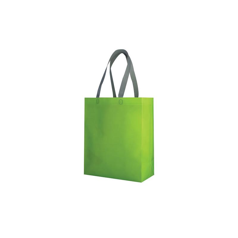 PG135 - Borsa shopping con soffietto Verde Lime PG135VL