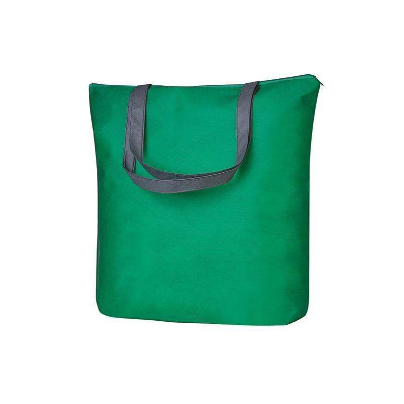 PG137 - Borsa shopping Verde Grigio PG137VG