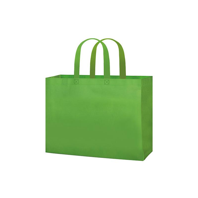 PG145 - Borsa shopping con soffietto Verde Lime PG145VL