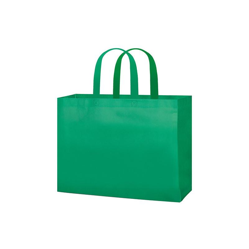 PG145 - Borsa shopping con soffietto Verde PG145VE