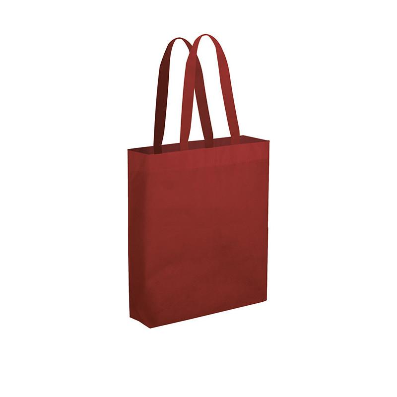 PG149 - Borsa maxi shopper con soffietto Bordeaux PG149BO