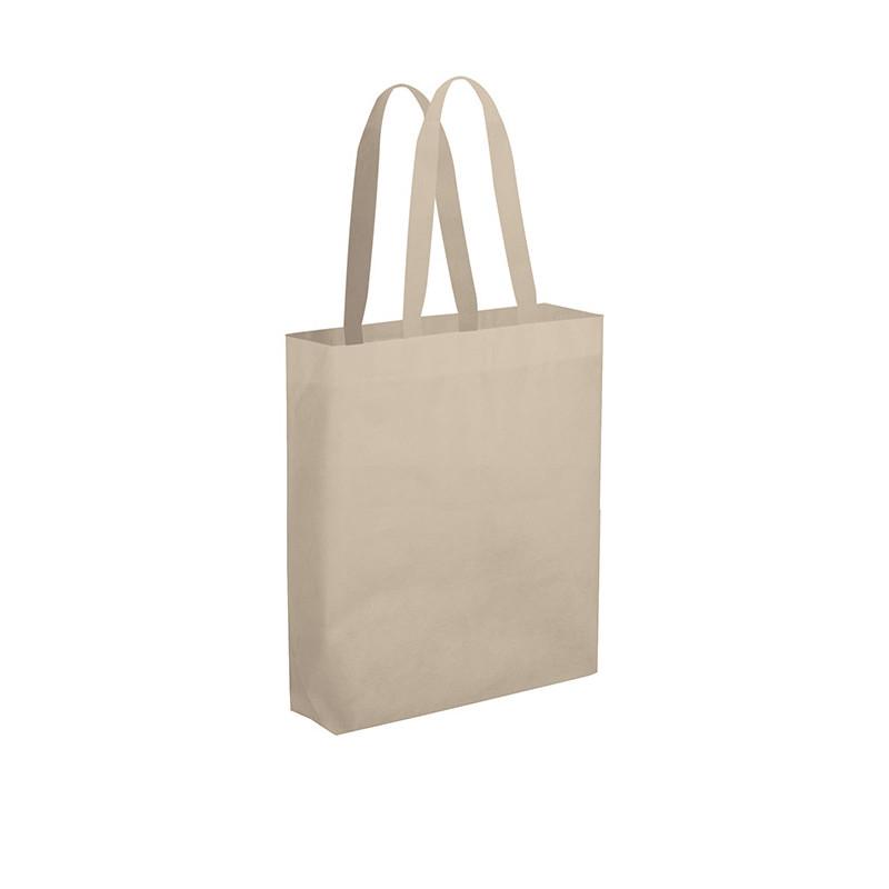 PG149 - Borsa maxi shopper con soffietto Ecru PG149EC