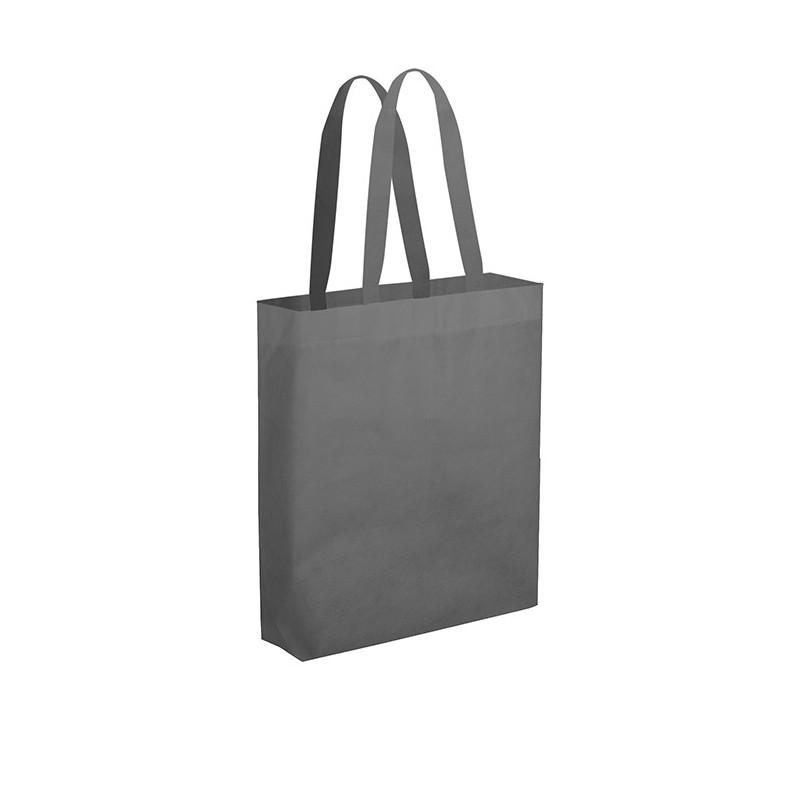 PG149 - Borsa maxi shopper con soffietto Grigio PG149GR