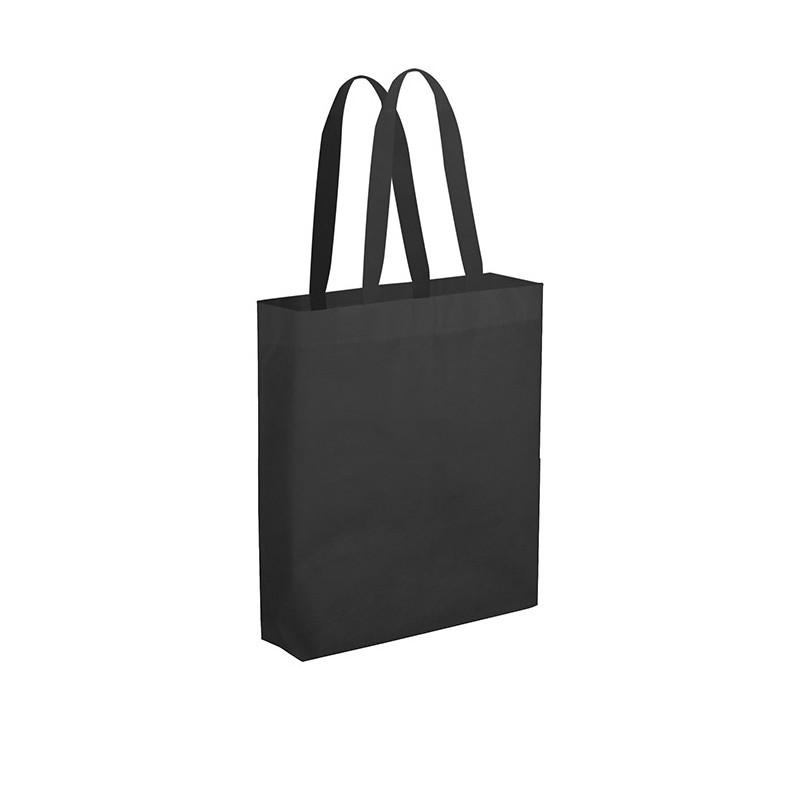 PG149 - Borsa maxi shopper con soffietto Nero PG149NE