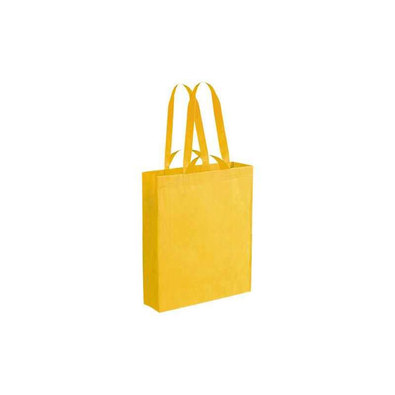 PG152 - Borsa shopping con soffietto Giallo PG152GI