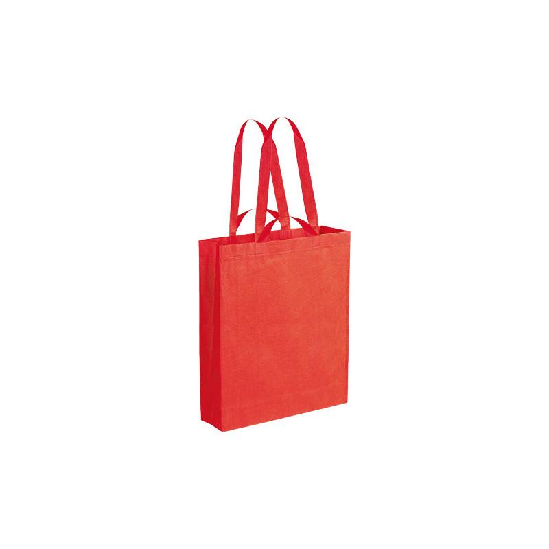 PG152 - Borsa shopping con soffietto Rosso PG152RO