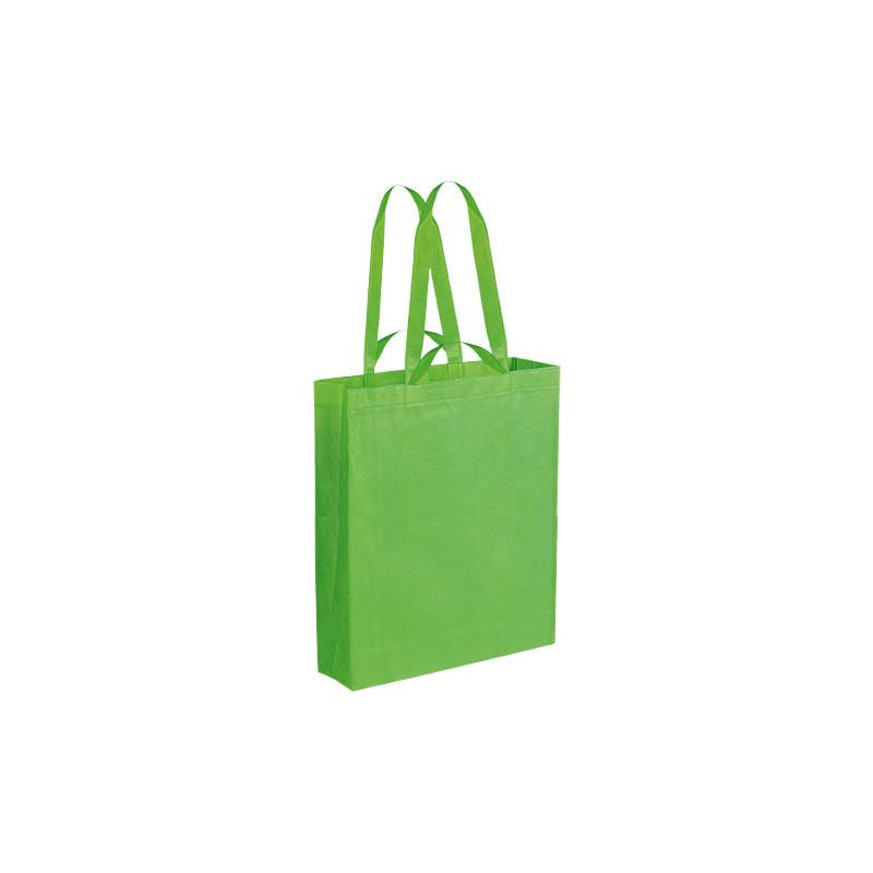 PG152 - Borsa shopping con soffietto Verde Lime PG152VL