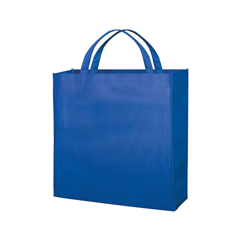 PG154 - Borsa shopping con soffietto Blu Royal PG154RY