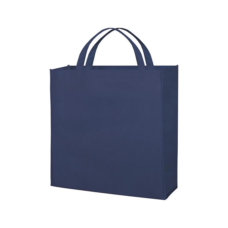PG154 - Borsa shopping con soffietto Blu PG154BL