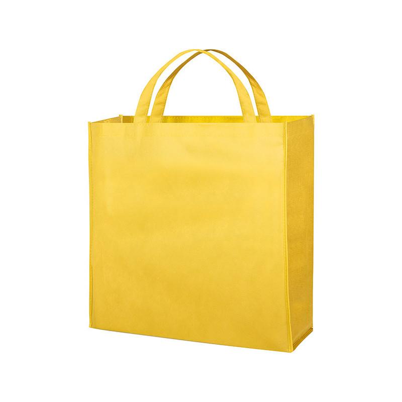 PG154 - Borsa shopping con soffietto Giallo PG154GI