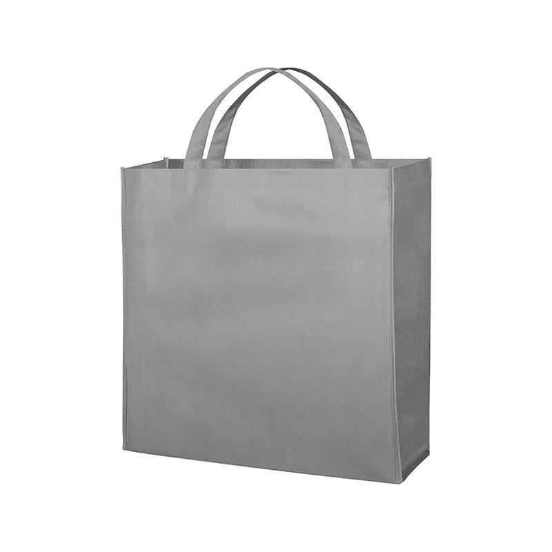 PG154 - Borsa shopping con soffietto Grigio PG154GR