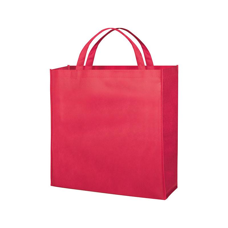 PG154 - Borsa shopping con soffietto Rosso PG154RO