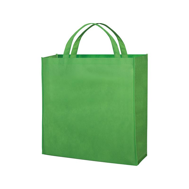 PG154 - Borsa shopping con soffietto Verde Lime PG154VL