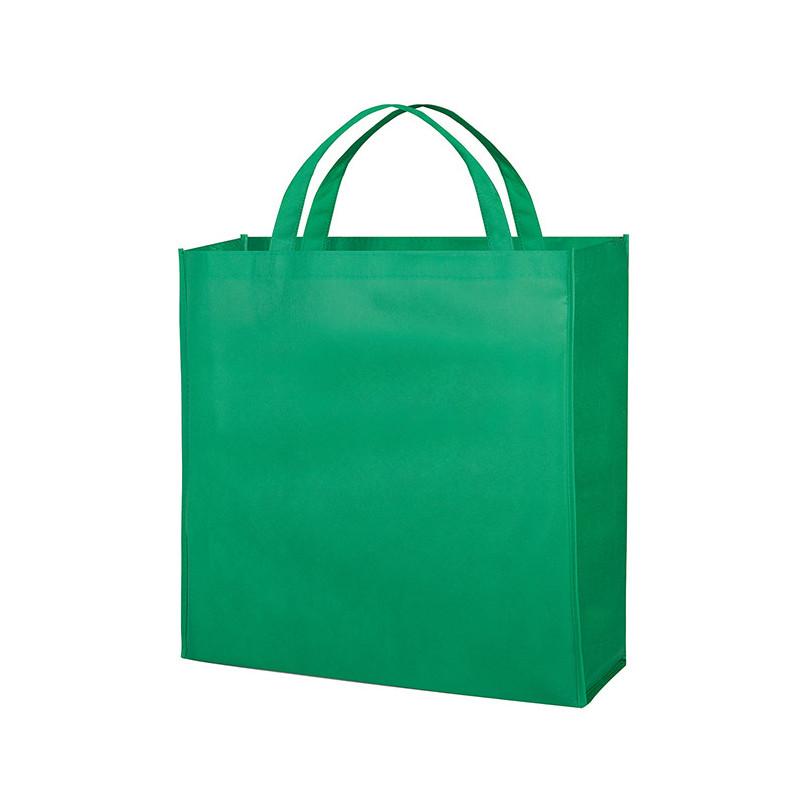 PG154 - Borsa shopping con soffietto Verde PG154VE