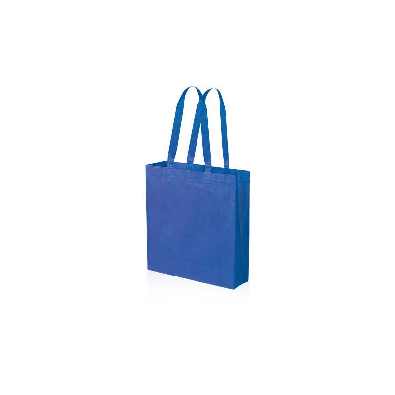 PG156 - Borsa shopping con soffietto Blu Royal PG156RY