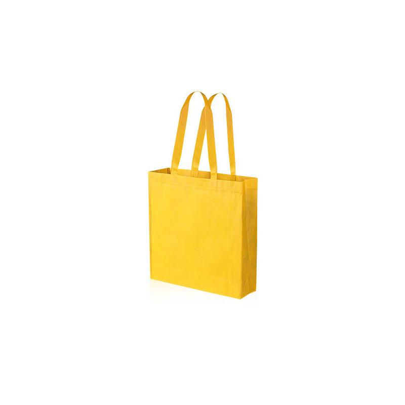 PG156 - Borsa shopping con soffietto Giallo PG156GI