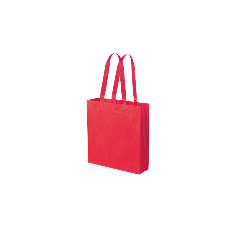 PG156 - Borsa shopping con soffietto Rosso PG156RO