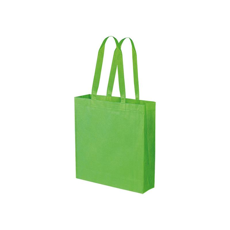 PG156 - Borsa shopping con soffietto Verde Lime PG156VL