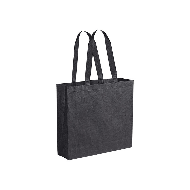 PG166 - Borsa shopping con soffietto Nero PG166NE