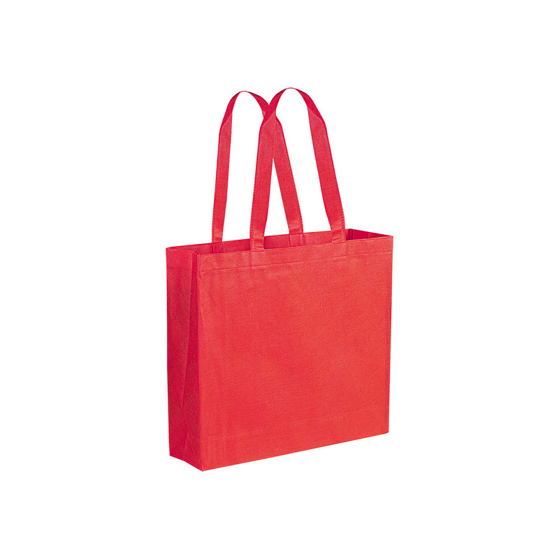 PG166 - Borsa shopping con soffietto Rosso PG166RO