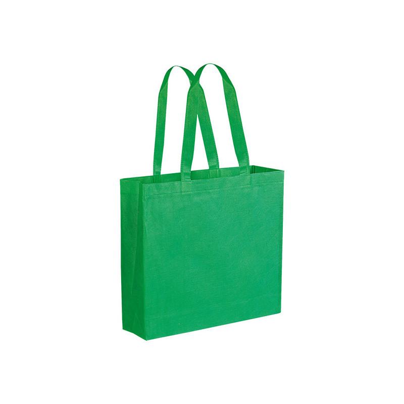 PG166 - Borsa shopping con soffietto Verde PG166VE