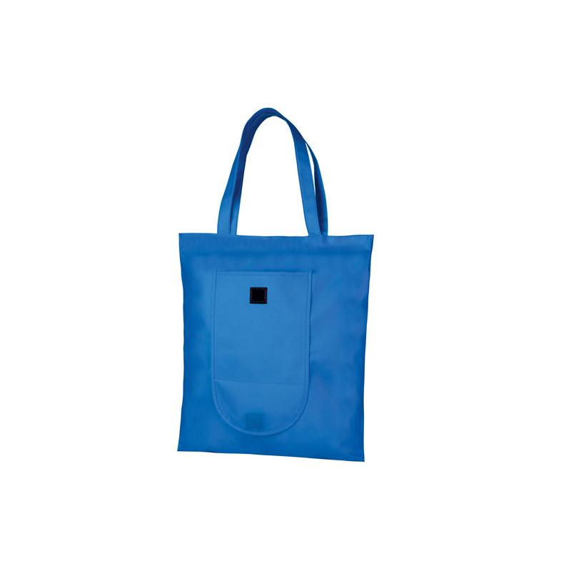 PG175 - Borsa shopping richiudibile Blu Royal PG175RY