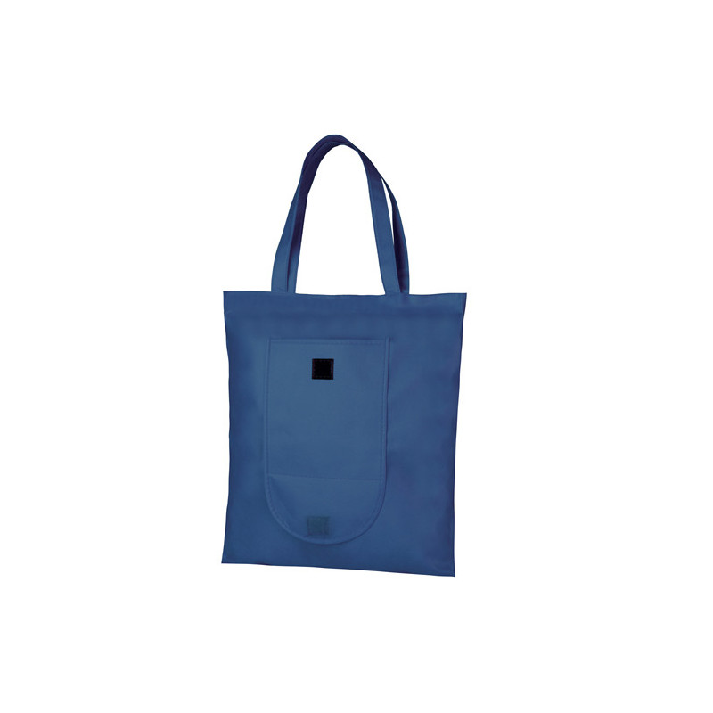 PG175 - Borsa shopping richiudibile Blu PG175BL
