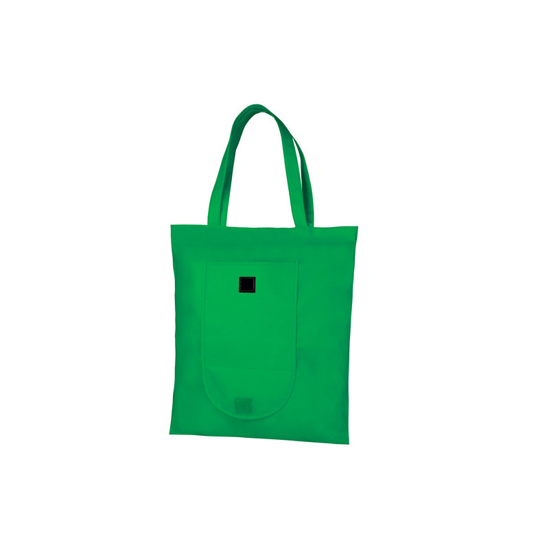 PG175 - Borsa shopping richiudibile Verde PG175VE