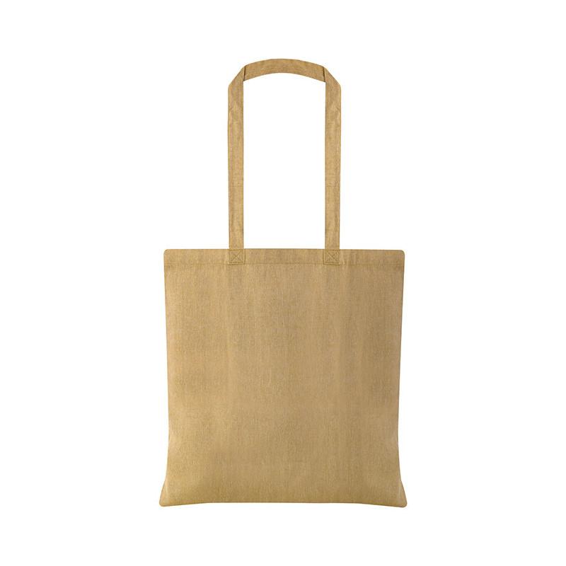 PG177 - Borsa shopping cotone riciclato Giallo PG177GI