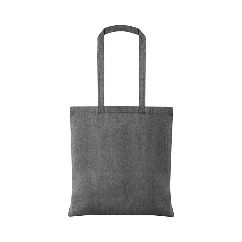 PG177 - Borsa shopping cotone riciclato Nero PG177NE