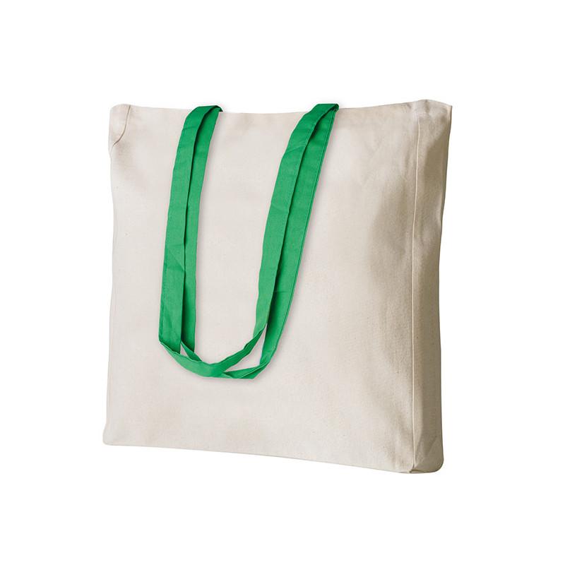 PG194 - Borsa shopping con soffietto Verde PG194VE