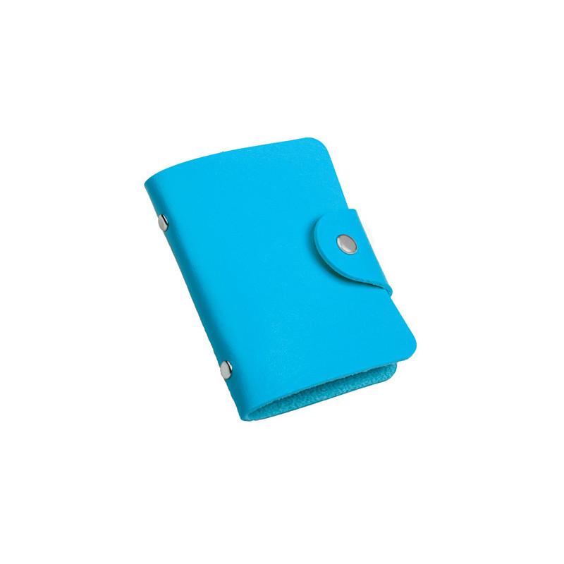 PH480 - Portabiglietti da visita Azzurro PH480AZ