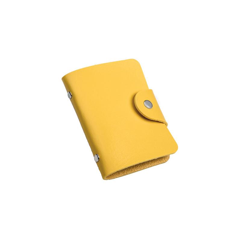 PH480 - Portabiglietti da visita Giallo PH480GI
