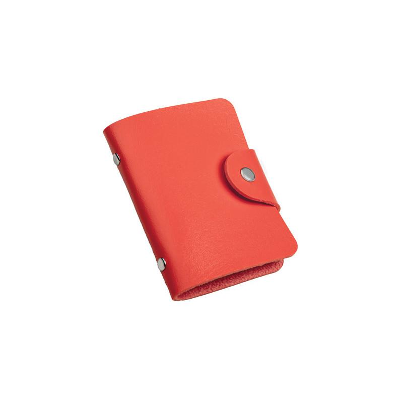 PH480 - Portabiglietti da visita Rosso PH480RO