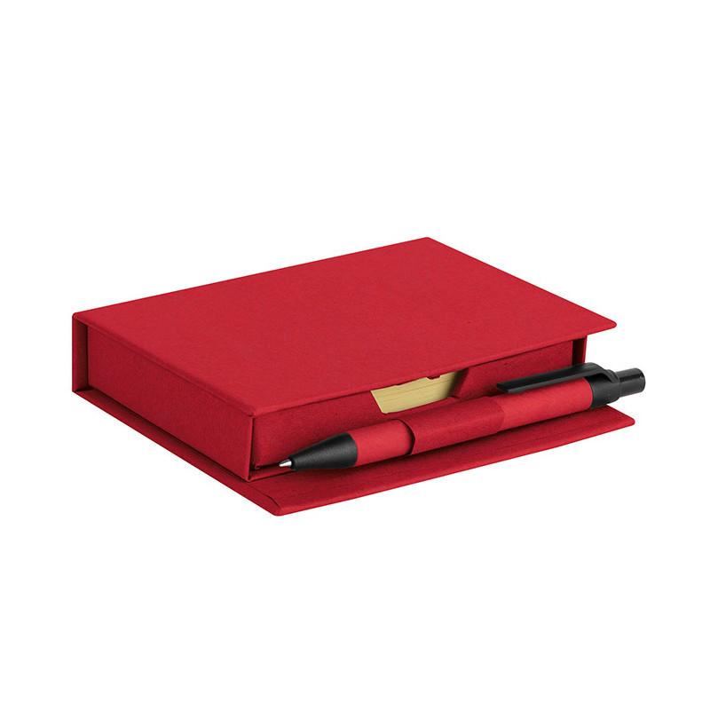 PH640 - Set appunti da scrivania Rosso PH640RO