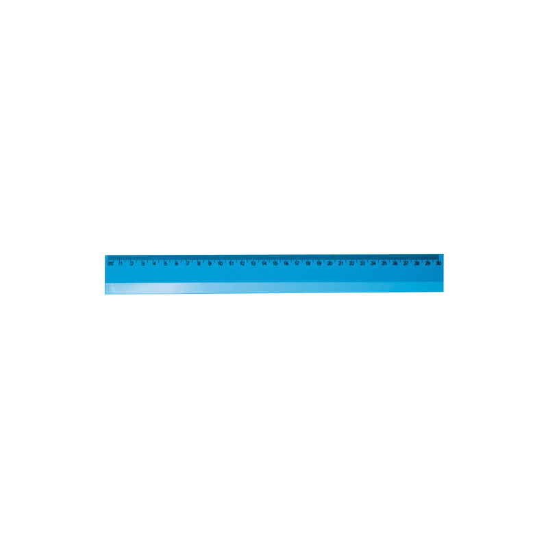PH823 - Righello 30 cm. Azzurro PH823AZ