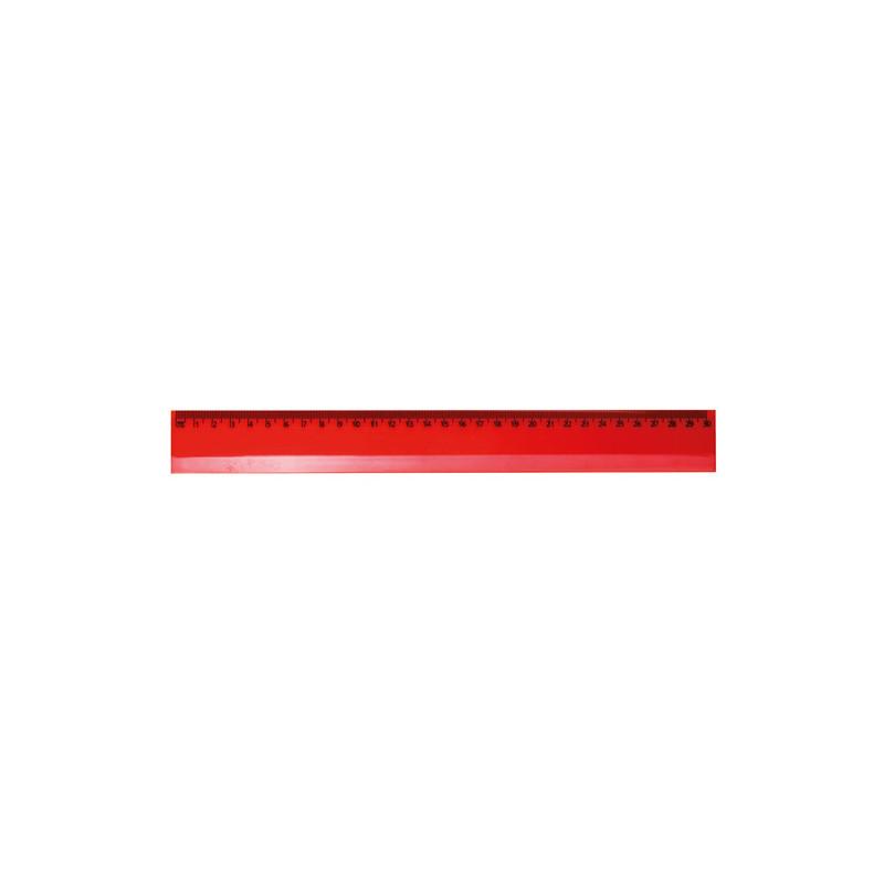 PH823 - Righello 30 cm. Rosso PH823RO