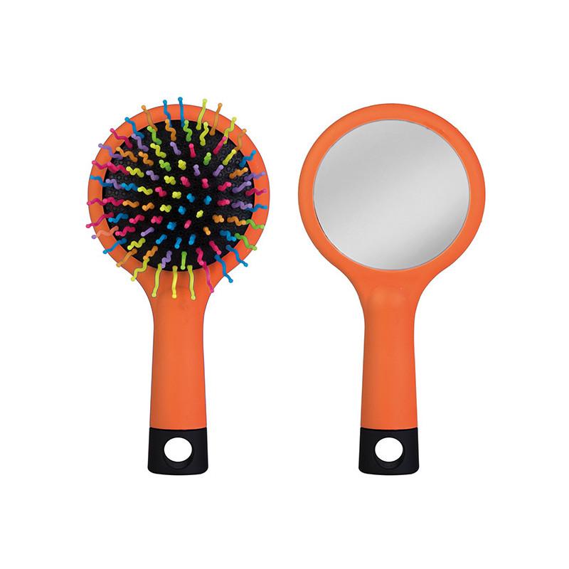 PI415 - Spazzola con specchietto Arancio PI415AR