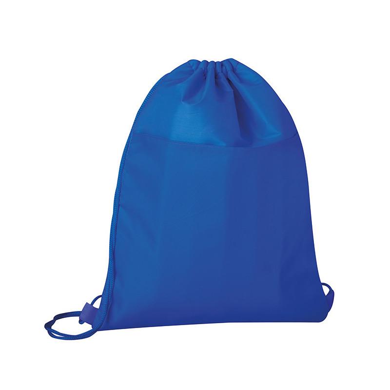 PJ105 - Sacca zaino con rivestimento termico nylon 210d Blu Royal PJ105RY