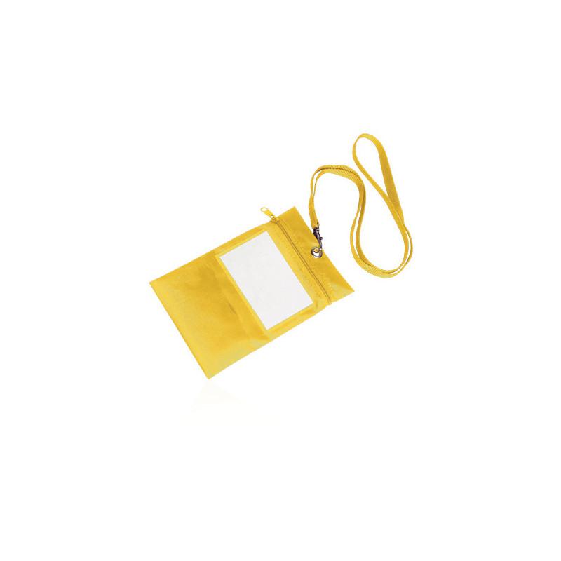 PJ560 - Borsellino collier multiuso nylon 210d Giallo PJ560GI