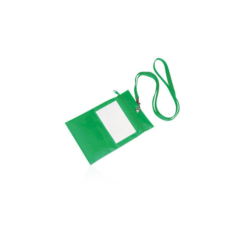 PJ560 - Borsellino collier multiuso nylon 210d Verde PJ560VE