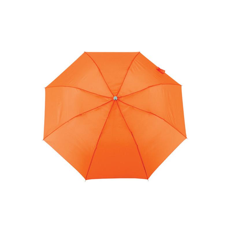 PL135 - Mini ombrello automatico con fodero Arancio Fluorescente PL135AF