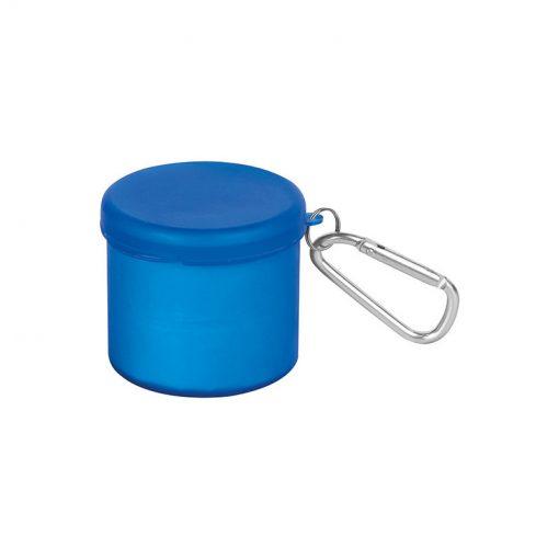 PL286 - Poncho antipioggia con cappuccio Blu PL286BL