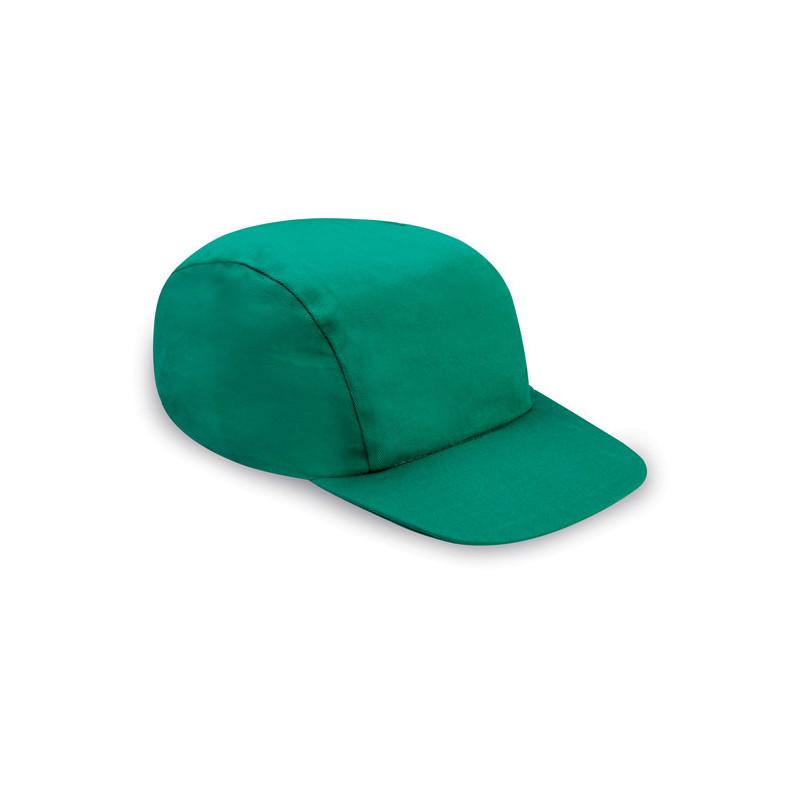PM150 - Berretto 3 pannelli cotone twill 108/58 Verde PM150VE