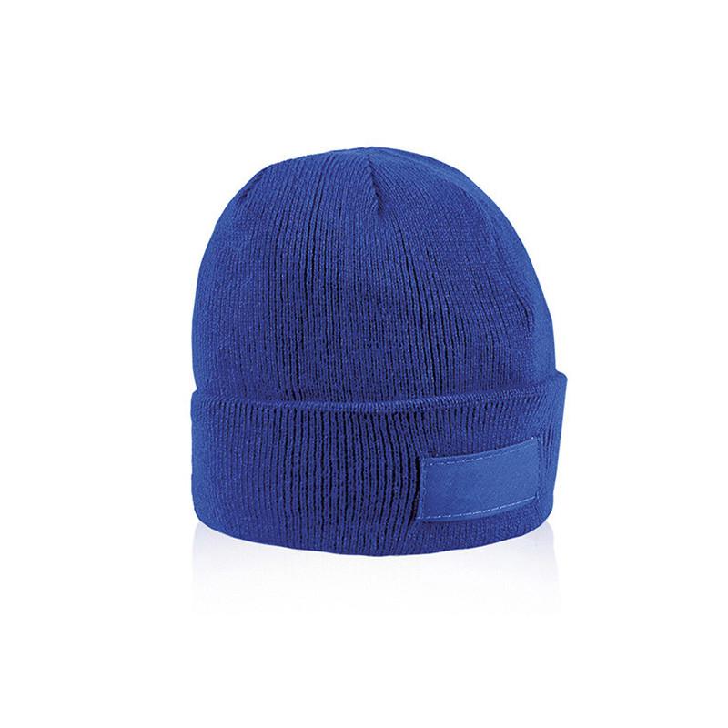 PM192 - Cappellino con etichetta serigrafabile Blu Royal PM192RY