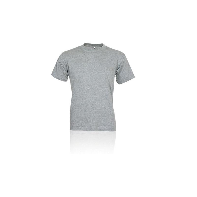 PM322 - T - shirt adulto cotone  pettinato Melange PM322MLL