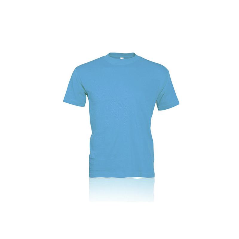 PM328 - T - shirt ragazzo / bambino cotone pettinato Azzurro PM328AZXS